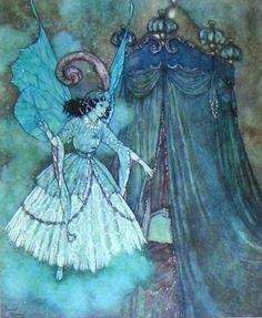 Illustration by Edmond Dulac