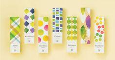 Premium organic green tea 'Modern Japanese package'