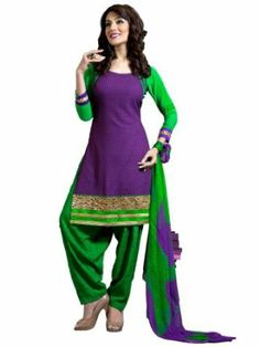 Riti Riwaz - HN1305 Georgette Purple Partywear Salwar Suit