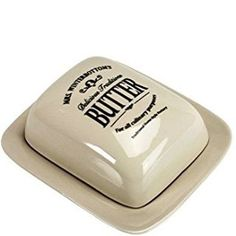 Brand new Butlers® Mrs. Winterbottom's butter dish with cover, vintage-style ceramic, no box, 300 pesos, shipping 150, nine available. #vintagecharm #vintageandremembrance #onlinesellerph #KitchenTools #dining #butlers #mrswinterbottom #retro  Yummery - best recipes. Follow Us! #kitchentools #kitchen