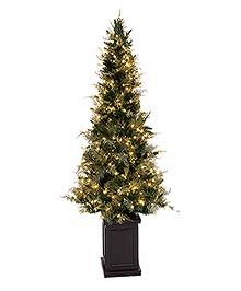 Think Outside Of The Box When Decorating Your Christmas Trees With Our Gorgeous Potted Artificial Or Perfect Foyer Tree