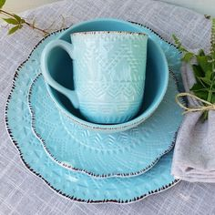 Loza etnica calipso, una belleza para alegrar tu mesa