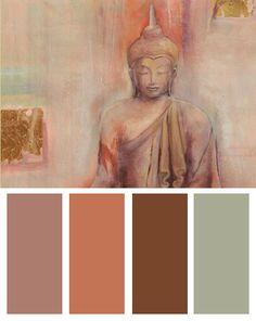 Buddha I Color Palette                                                                                                                                                                                 More