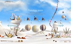 Nespresso Variations // The Tastiest Flavours And The Most Ethereal Surprises @100BestWebsites