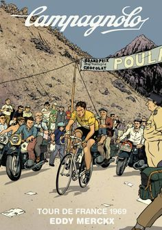 1969 Tour de France Poster: Looks like something out of 'The Adventures of Tintin' :-) #tdf