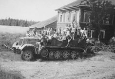 Here is the number of Germans you can fit on a Borgward SdKfz 7 medium halftack