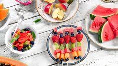 Athletic Clubs, Kabobs, Fruit Salad, Watermelon, Food, Diet, Skewers, Fruit Salads, Essen