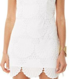 319ab09252 Lilly Pulitzer Delia Scalloped Hem Shift Dress- obsessed with sea shells  Southern Prep