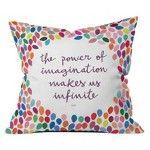 DENY Designs Imagination Throw Pillow