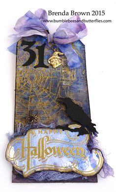 Bumblebees and Butterflies: Tag Friday for AVJ - Happy Halloween