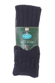 5a87881688bb Navy Kilt Socks