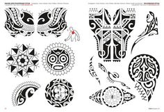 Polynesian Tattoo Flash | Double click on above image to view full picture