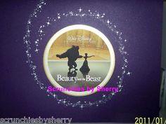 4 Disney Store Disney's Beast & the Beast Lithographs