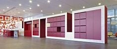 2012: CTAC innovative office - 's-Hertogenbosh by M+R interior architecture, via Behance