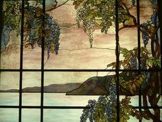 Tiffany Glass in MOMA NYC