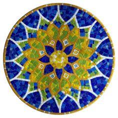 Mandala Fernando Bekir mosaic by brendaq