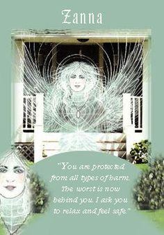 Oracle Card Zanna   Doreen Virtue   official Angel Therapy Web site