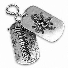 Pet ID Tag, Available in Flat or 3-D Effect Design, Made of Stainless Steel