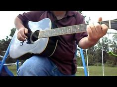 Delta Blues Acoustic Guitar lesson- You can also play Country Gospel wit...