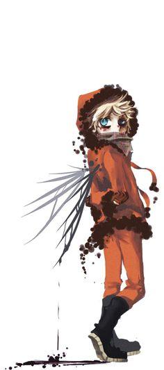 South Park Anime Kenny Death Angel