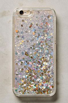 Floating Glitter iPhone 6 & 6 Plus Case - anthropologie.com