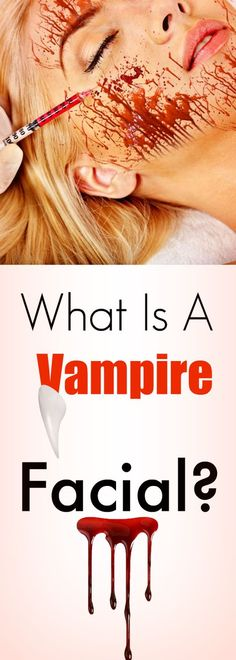 WTF is a Vampire Facial? The correct name for this procedure is called a PRP facial, and yes the process does involve blood, my goodness the things we do for beauty.  So how does this work, what is PRP and where are they getting the blood?