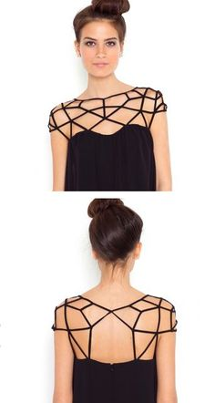 Geometric, structural, cut out detail - love it. Don't forget to check my other pins!