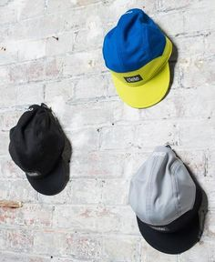 The Cycling Store - Essential Commuting Kit - cycling caps - Ciele Athletics - yellow - black - grey - On thecyclingstore.cc now Black N Yellow, Blue Grey, Black And Grey, Cycling Clothing, Cycling Outfit, Performance Cycle, Athletics, Cap, Running