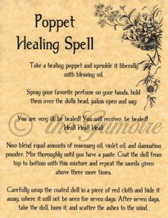 Lot 20 Healing Spells Book of Shadows Pages Wicca Poster Pagan Witch Works | eBay