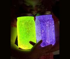 Fairy glow jars, glow mason jars, diy fairy jars, mason jar fairy lights, j Cute Crafts, Crafts To Do, Kids Crafts, Summer Crafts, Quick Crafts, At Home Crafts For Kids, Diy Crafts For Girls, Summer Fun, Spring Summer