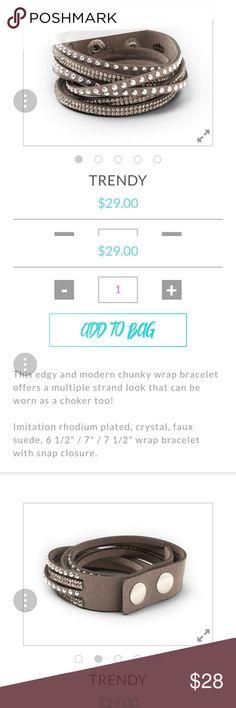 Trendy bracelet or choker Brand new Premier Designs Jewelry Bracelets