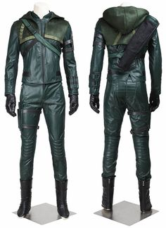 Green Arrow Oliver Queen Cosplay Costume For Sale Best Profession Cosplay on XCOOS