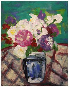 Summer Flowers, 2014 – acrylics on canvas