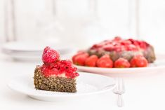 Erdbeertorte Raspberry, Sweets, Fruit, Food, Pies, Cakes, Strawberries, Food Food, Sweet Pastries
