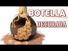 Botella decorativa regalo SAN VALENTIN - VALENTINE, DECORATIVE BOTTLE