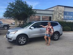 TABITHA's new 2016 CHEVROLET  TRAVERSE! Congratulations and best wishes from Benny Boyd Motor Company - Marble Falls and DEE NIXON.