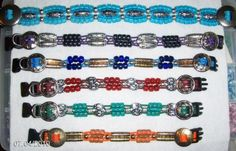 Blue Beaded Dog Collar by JinsK9Kreations on Etsy, $40.00