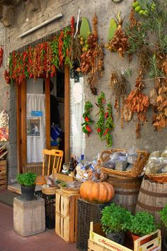 Market shop in Lipari, Sicily, Italy. ASPEN CREEK TRAVEL - karen@aspencreektravel.com