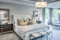 Spacious Owners Suite with Sitting Room Home Bedroom, Bedrooms, Under Cabinet Lighting, Masons, Outdoor Living Areas, Guest Suite, House Floor Plans, Home Collections