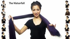 """25 Ways to Wear a Scarf"" YouTube video. Helpful for getting ready for college tip for our Hawaii students. :D"