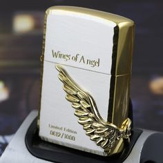 Japanese Angel Wings Zippo Lighter Limited Edition-WOA-G