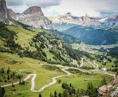 Passo Gardena - Alta Badia, Dolomiti
