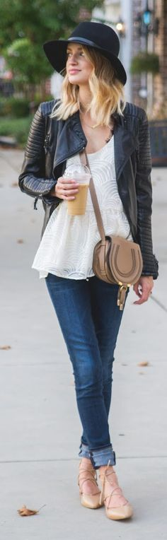 Little Blonde Book %odern Romantic Weekend Style Outfit Inspo