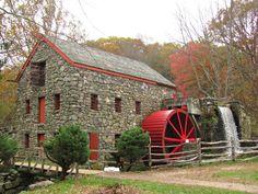 Day 361: The Grist Mill, Sudbury, MA by barbarajdonnellan