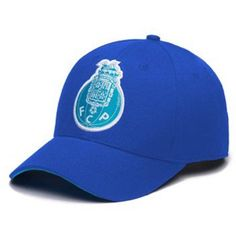 FC Porto Basic 6 Panel Adjustable Snapback Hat, Blue