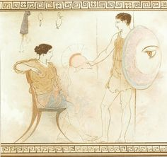 Wallis, Henry: Pictures from Greek vases: the white Athenina lekythi (London, Ancient Greek Art, Ancient Romans, Ancient Greece, Greek Pottery, Pottery Art, Wallis, Uni Heidelberg, Roman Art, Minoan