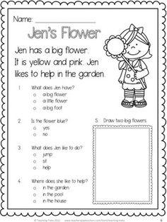 Family Reading Comprehension Worksheets - comprehension worksheets ...