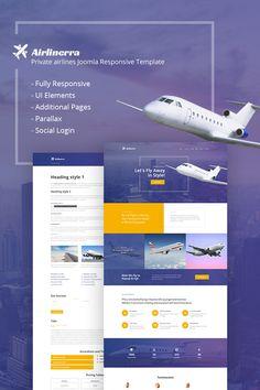 Airlinerra - Private Airline Joomla Template https://www.templatemonster.com/joomla-templates/airlinerra-private-airline-joomla-template-65873.html