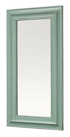 Espejo Iron turquesa, Grande