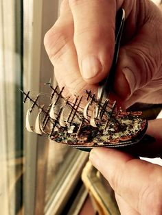 Xebec Wooden Model Ship The three masted Xebec was used for centuries in the Mediterranean as a merchant ship because of its spe. Model Sailing Ships, Model Ships, Model Ship Building, Boat Building, Junk Ship, Ship In Bottle, Wooden Ship, Tall Ships, Miniture Things